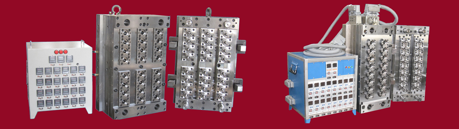 Injection mold for PET Preform